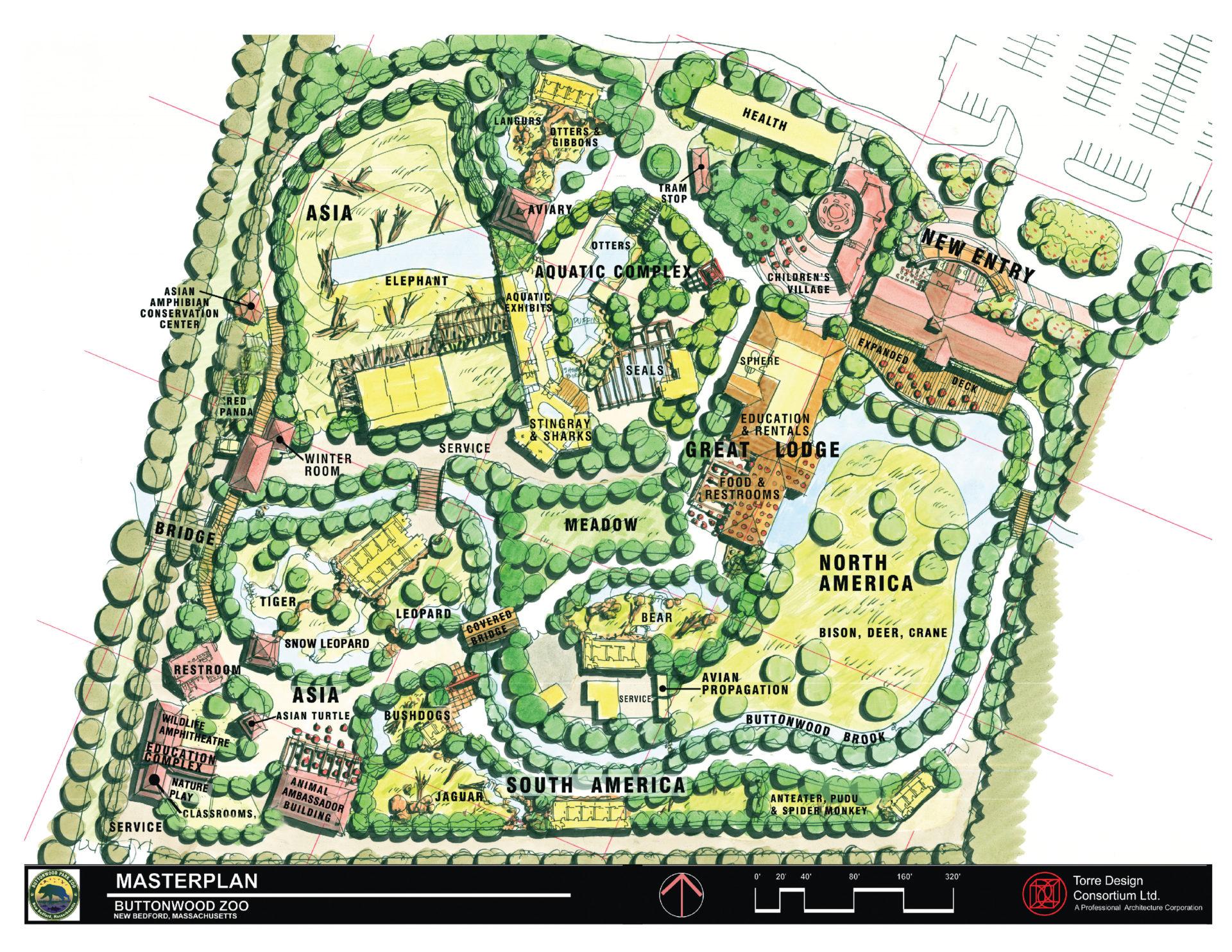 Master Plan Buttonwood Park Zoo