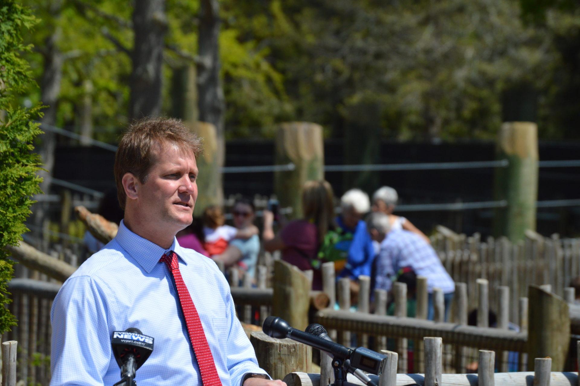 Buttonwood Park Zoo gives sneak peek of new exhibit